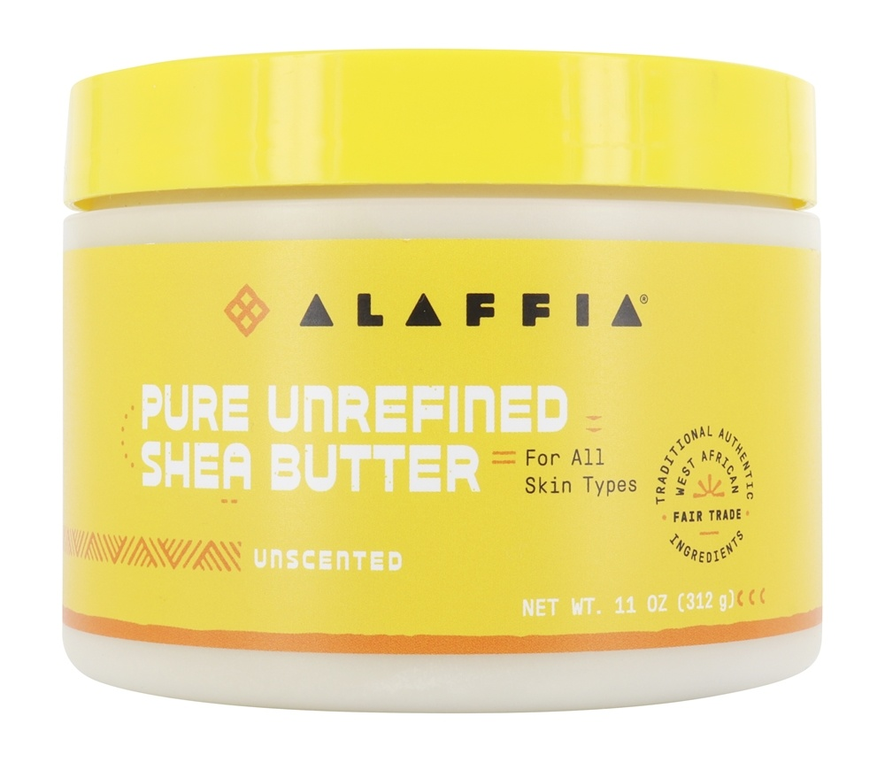 Everyday Shea - Fair Trade Shea Butter Unscented - 11 oz.