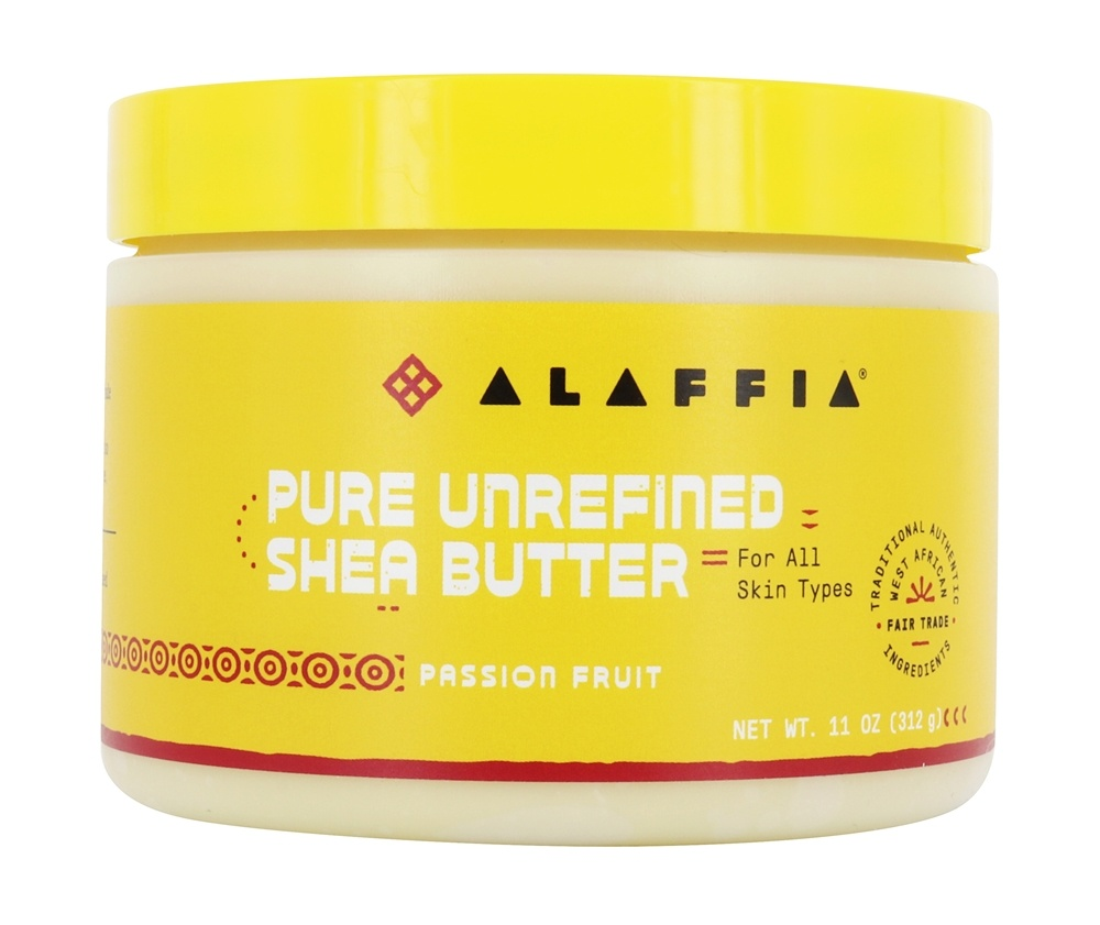 Everyday Shea - Fair Trade Shea Butter Passionfruit - 11 oz.
