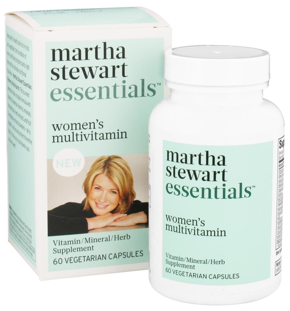 Martha Stewart Essentials - Women's Multivitamin - 60 Vegetarian Capsules