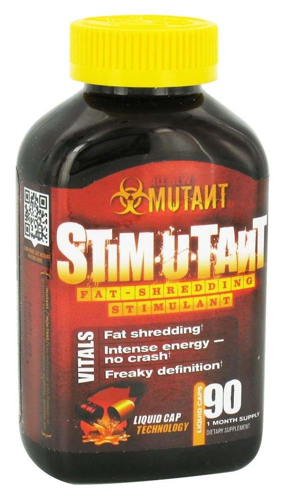 Mutant - Stimutant Fat-Shredding Stimulant - 90 Liquid Capsules