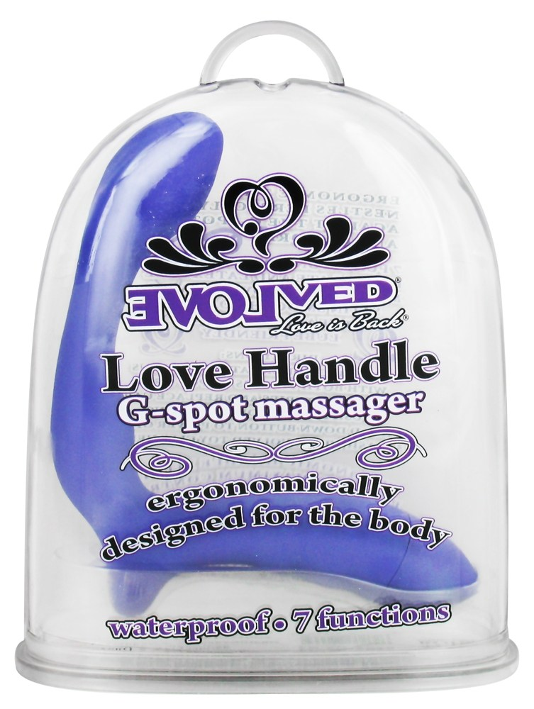 Evolved Novelties - Spot Massager Love Handle G-Spot Massager Purple