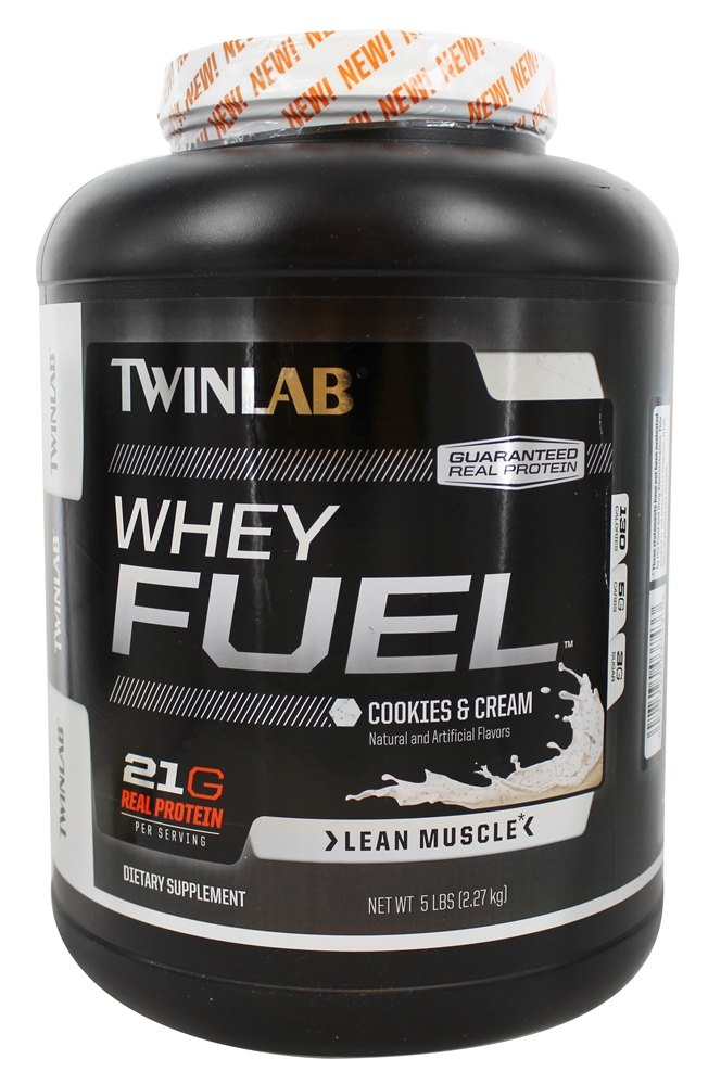 Twinlab - Whey Fuel Cookies & Cream - 5 lbs.