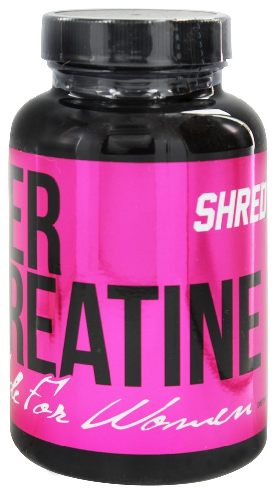 Shredz Supplements - Her Creatine Made For Women - 60 Capsules