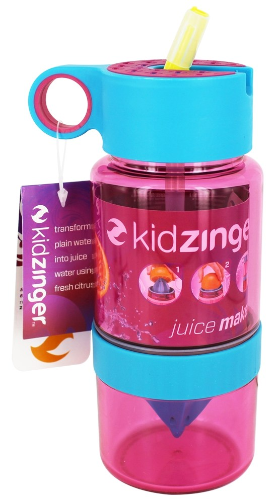 Zing Anything - Kid Zinger Juice Maker Pink - 16 oz.