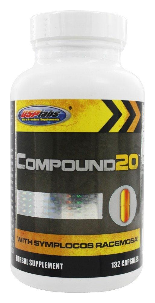 USP Labs - Compound 20 - 132 Capsules