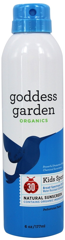 Goddess Garden - Sunny Kids Natural Sunscreen Continuous Sport Spray 30 SPF - 6 oz.
