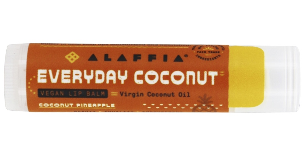 Everyday Shea - Everyday Coconut Fair Trade Lip Balm Coconut Pineapple - 0.15 oz.