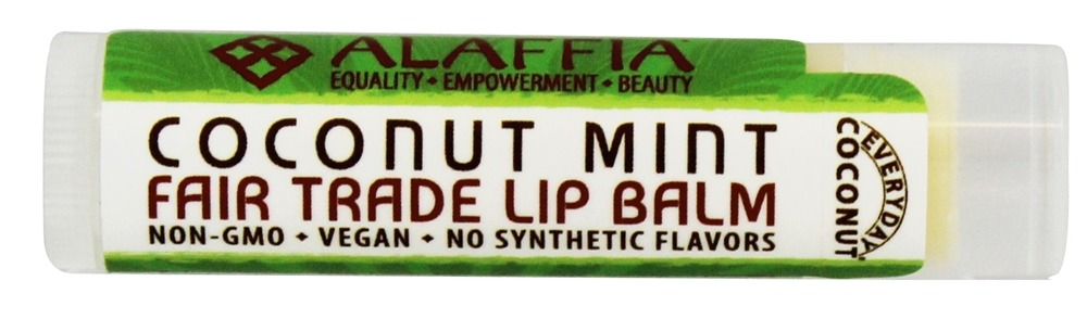 Everyday Shea - Everyday Coconut Fair Trade Lip Balm Coconut Mint - 0.15 oz.