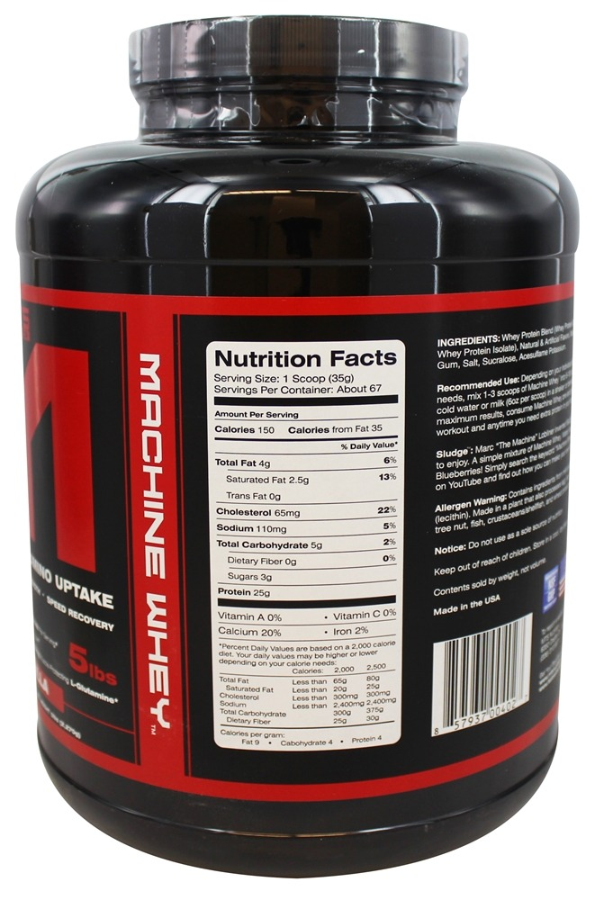 mts machine whey review