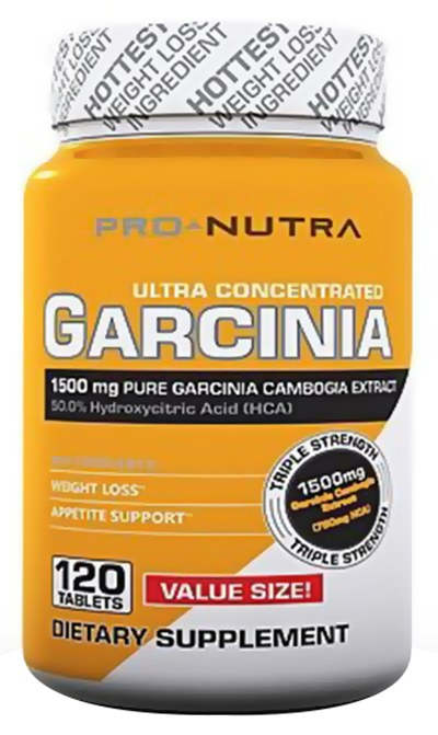 Pro Nutra - Garcinia Ultra Concentrated Value Size 1500 mg. - 120 Tablets