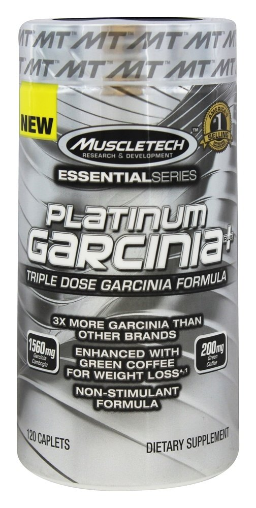 Muscletech Products - Platinum Essential Series Garcinia Plus - 120 Caplets