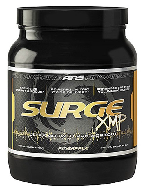 ANS (Advanced Nutrition Systems) - Surge XMP Ultra Growth Pre-Workout Pineapple - 1.52 lbs.