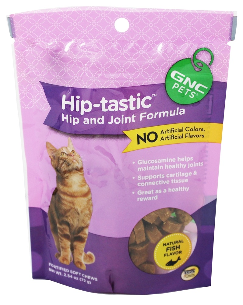 GNC Pets - Hip & Joint Wafer Treat For Cats - 2.5 oz.