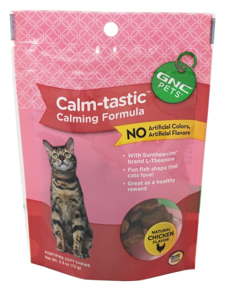 GNC Pets - Calming Wafer Treat For Cats - 2.5 oz.