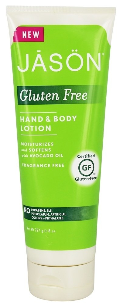 Jason Natural Products - Hand & Body Lotion Gluten Free Fragrance Free - 8 oz.