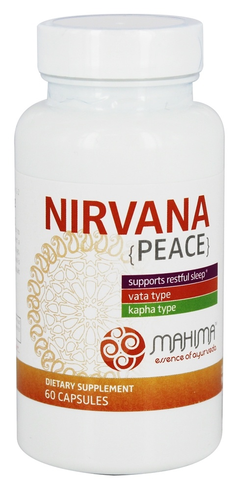 Mahima for Life - Nirvana Peace Sleep Support - 60 Capsules