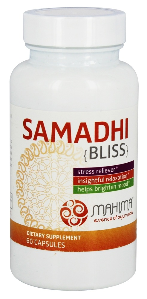 Mahima for Life - Samadhi Bliss Stress Reliever - 60 Capsules