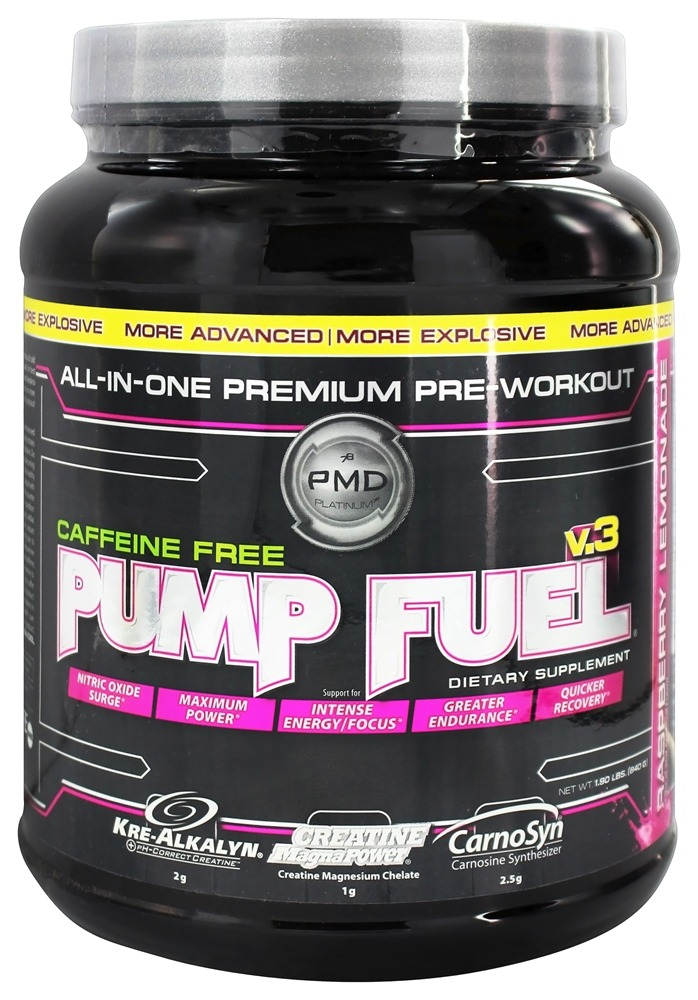 NDS Nutrition - Pump Fuel v.3 Caffeine Free Raspberry Lemon - 1.9 lbs.