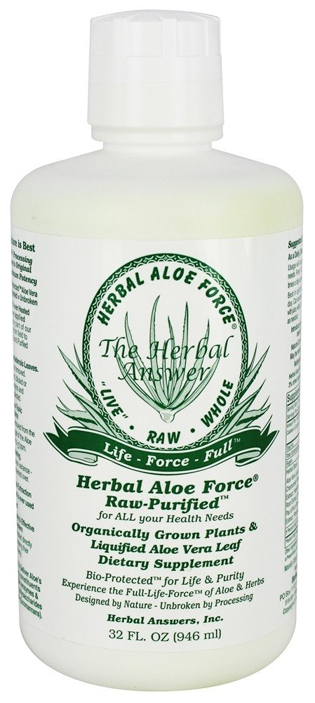 Herbal Answers - Herbal Aloe Force Liquid - 32 oz.