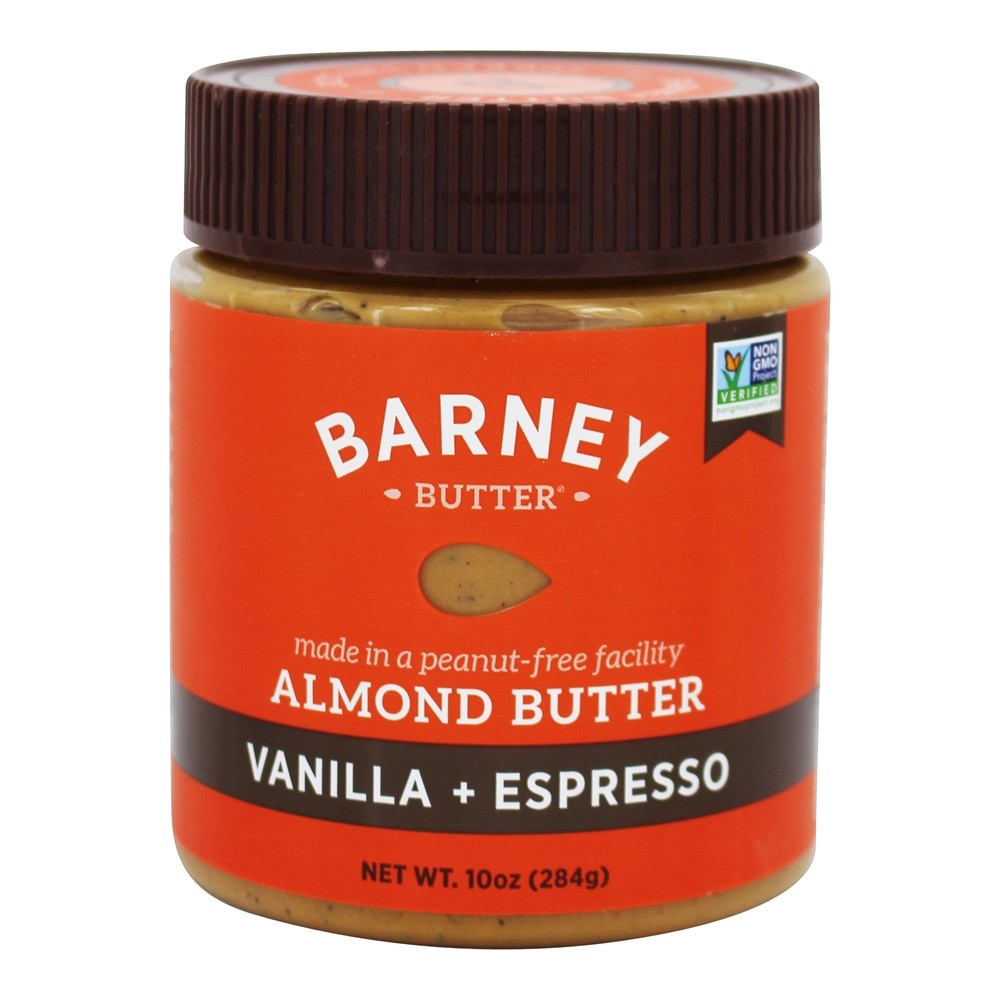 Barney Butter - All Natural Almond Butter Vanilla Bean + Espresso - 10 oz.