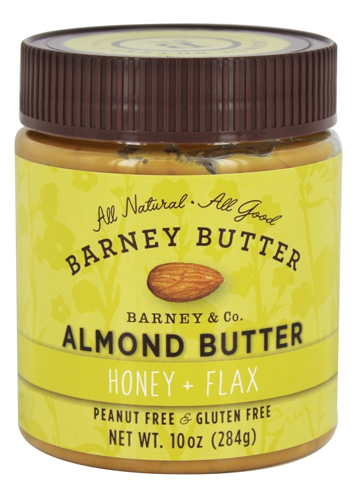 Barney Butter - All Natural Almond Butter Honey + Flax - 10 oz.