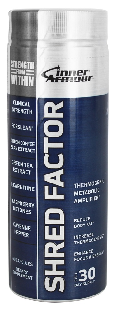 Inner Armour Blue - Shred Factor - 60 Capsules