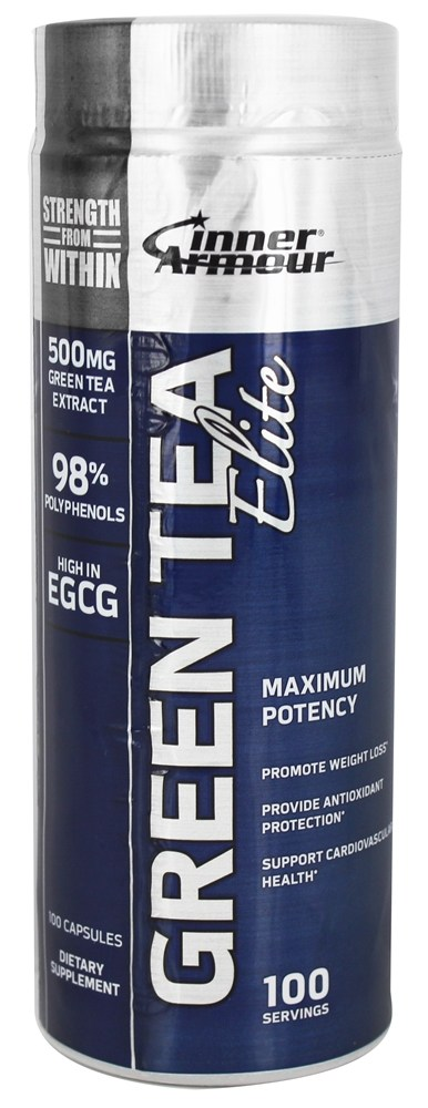 Inner Armour Blue - Green Tea Elite - 100 Capsules