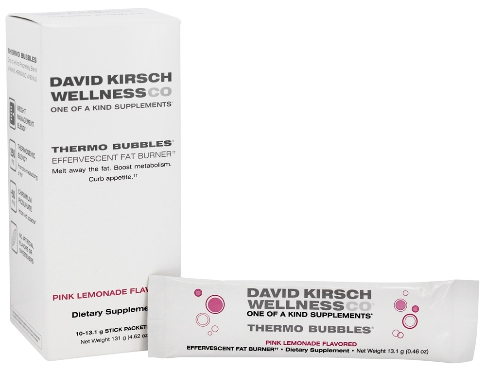 David Kirsch Wellness - Thermo Bubbles Pink Lemonade - 10 Packet(s)