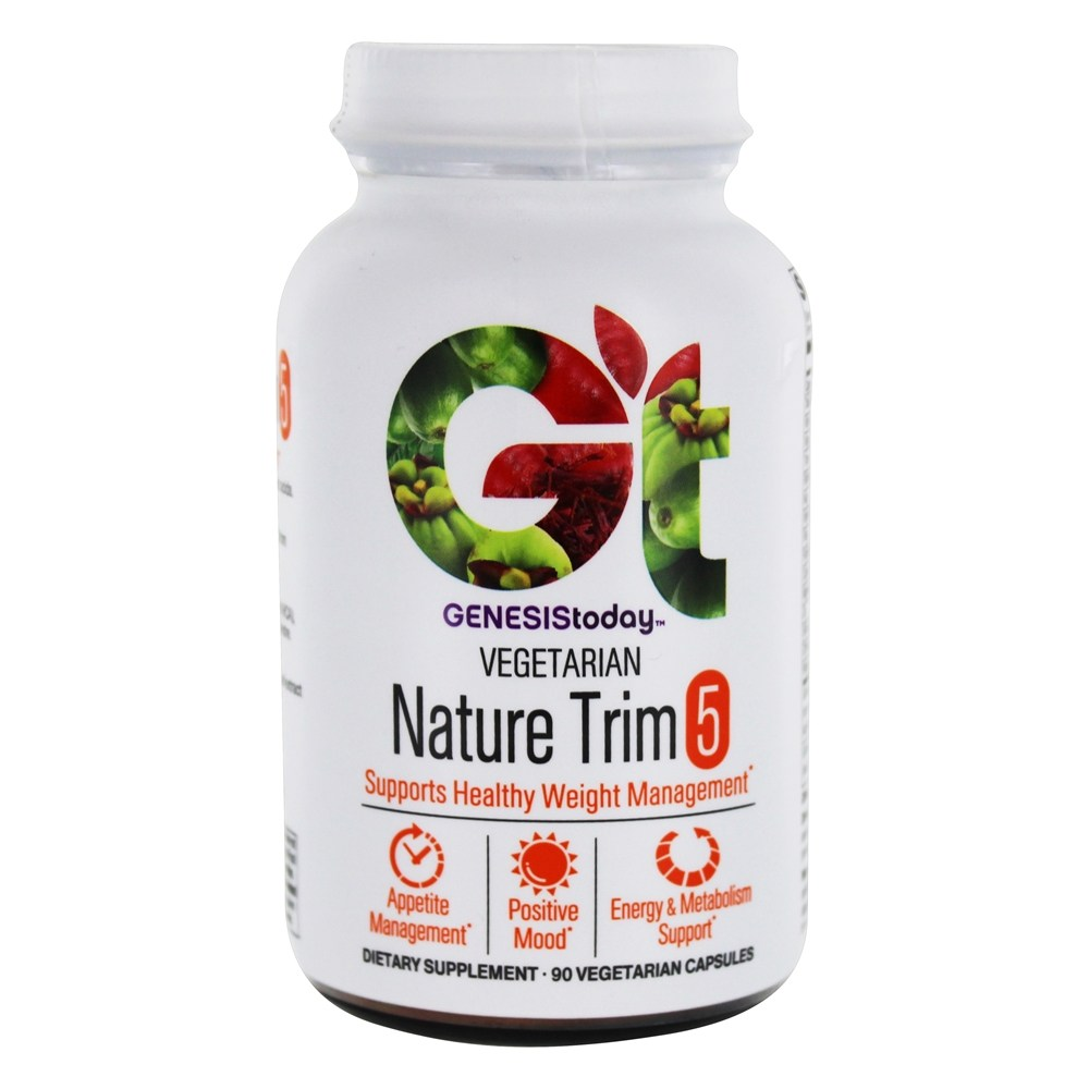 Genesis Today - Nature Trim 5 - 90 Vegetarian Capsules