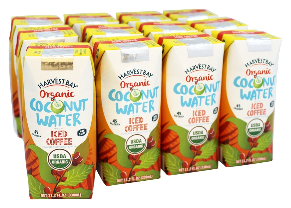 Harvest Bay - Organic Coconut Water RTD with Iced Coffee - 11.2 oz.