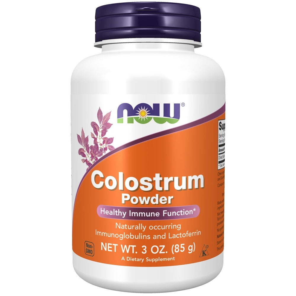 NOW Foods - Colostrum 100% Pure Powder - 3 oz.