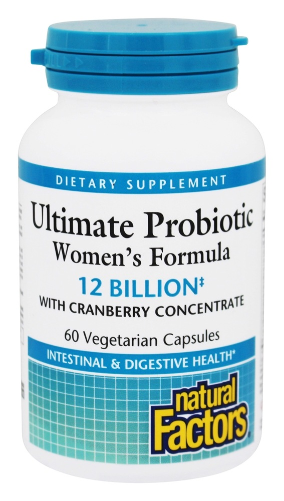 Natural Factors - Dr. Murray's Ultimate Probiotic Women's Formula - 60 Vegetarian Capsules