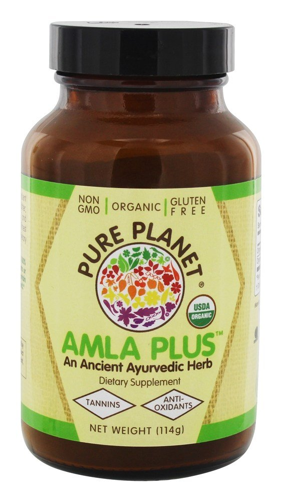 Pure Planet - Organic Amla-C Plus Natural Vitamin C Powder - 4 oz.