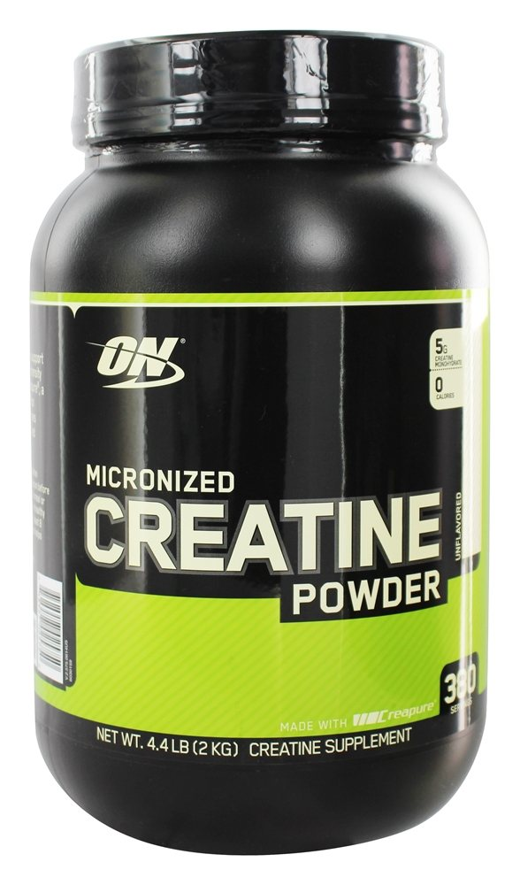 Optimum Nutrition - Micronized Creatine Powder Creapure Unflavored - 2000 Grams