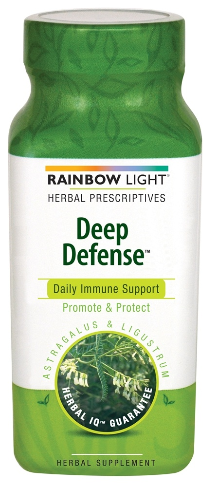 Rainbow Light - Deep Defense Astragalus & Ligustrum - 90 Tablets