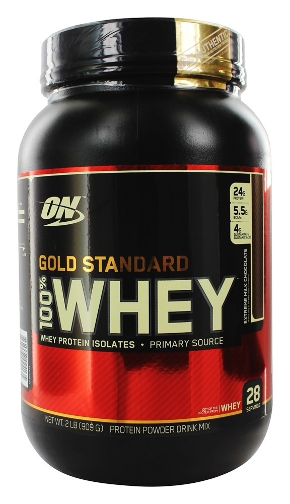 Optimum Nutrition - 100% Whey Gold Standard Protein Extreme Milk Chocolate - 2 lbs.