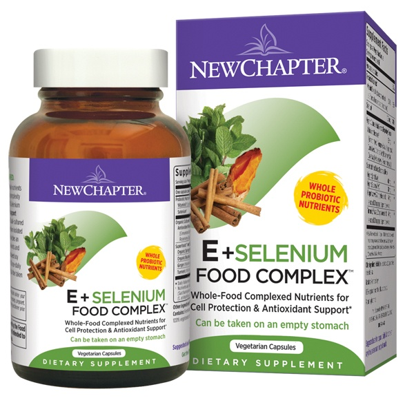 New Chapter - Organics E & Selenium Food Complex - 60 Vegetarian Capsules
