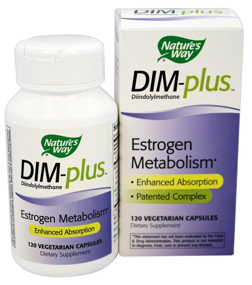 Nature's Way - DIM-Plus Estrogen Metabolism Formula - 120 Capsules LUCKY DEAL