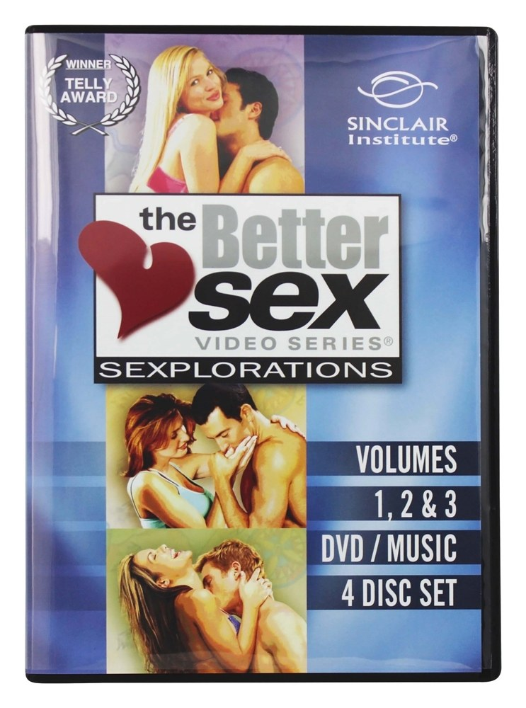 Sinclair Institute - Better Sex Series Sexplorations 3 Pack Special of Vols. 1 2 & 3 with Bonus - 1 DVD(s)