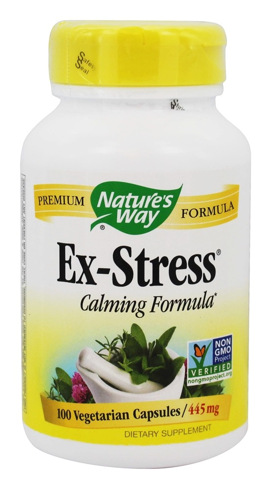 Nature's Way - Ex-Stress Synergistic Blend 430 mg. - 100 Capsules
