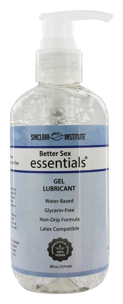 Sinclair Institute - Better Sex Essentials Gel Lubricant - 8 oz.