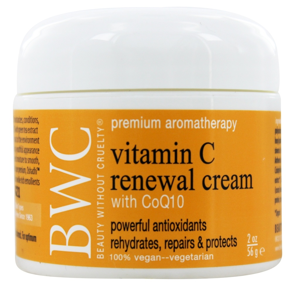 Beauty Without Cruelty - Vitamin C CoQ10 Renewal Cream - 2 oz.