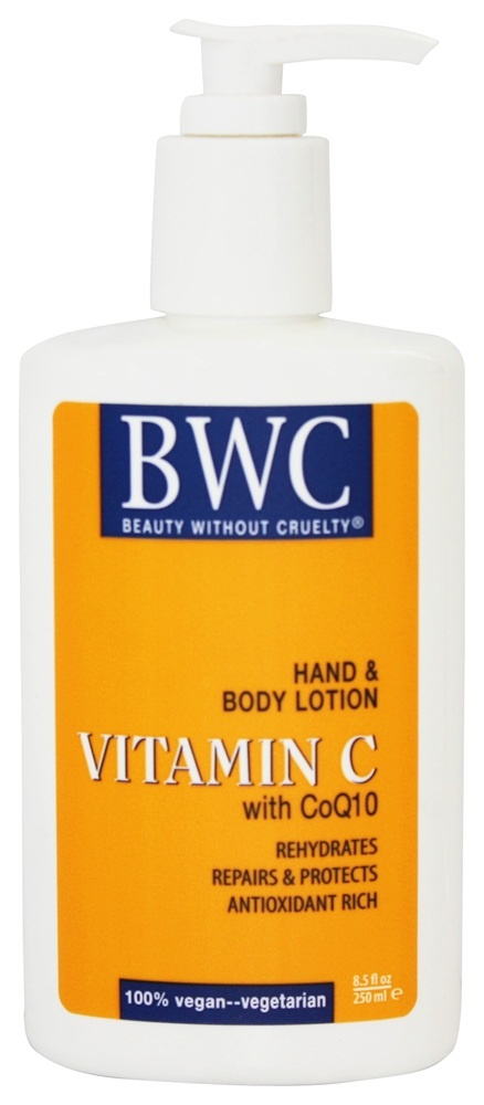 Beauty Without Cruelty - Vitamin C Hand & Body Lotion with CoQ10 - 8.5 oz.