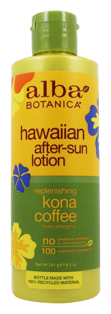 Alba Botanica - Alba Hawaiian After-Sun Lotion Kona Coffee - 8.5 oz.