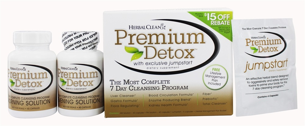 BNG Enterprises - Herbal Clean Premium Detox 7-10 Day Complete Cleansing Program Kit