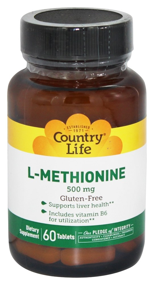 Country Life Methionine Vitamins and Supplements