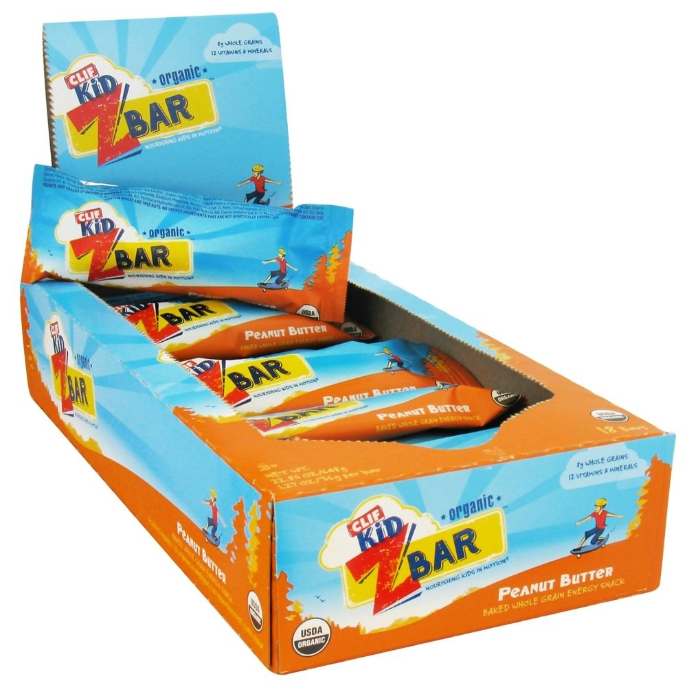 Clif Bar - Kid Z-Bar Organic Peanut Butter - 1.27 oz.