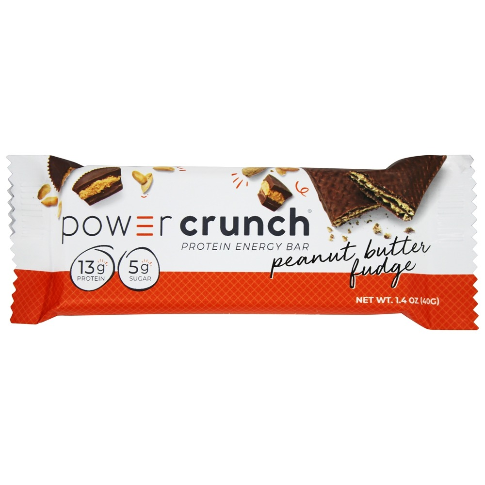BioNutritional Research Group - Power Crunch High Protein Energy Wafer Peanut Butter Fudge - 1.4 oz.