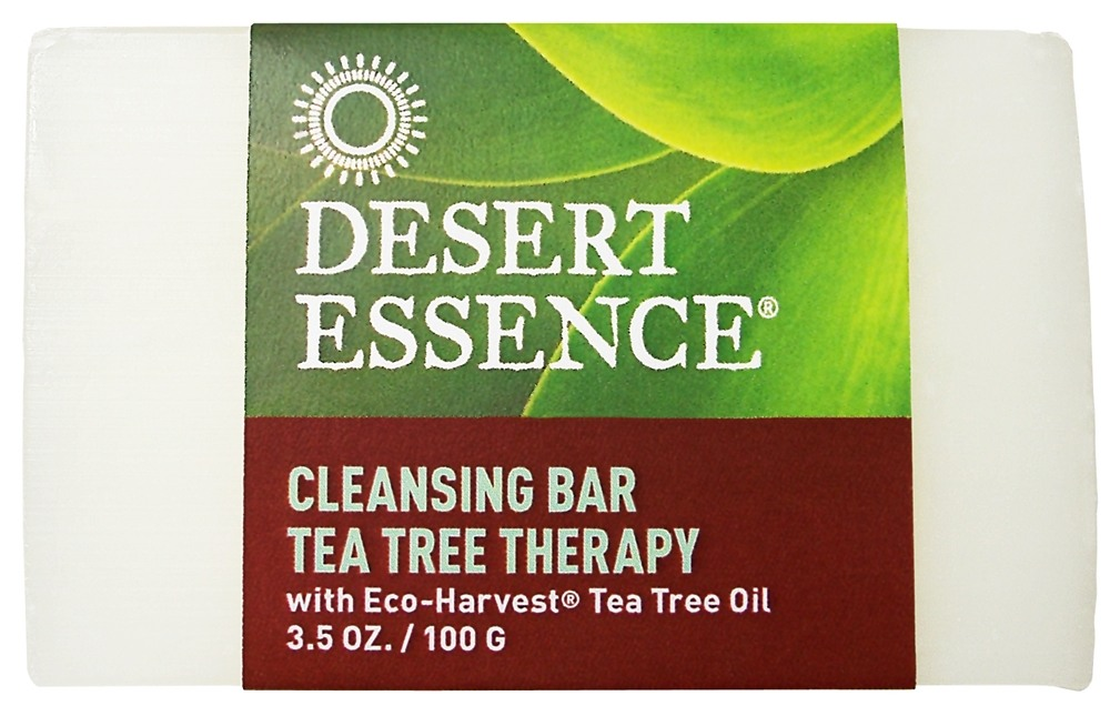Desert Essence - Tea Tree Therapy Cleansing Bar Soap - 3.5 oz.
