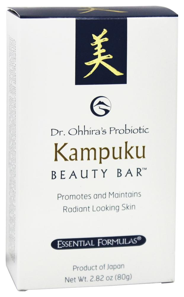 Essential Formulas - Dr. Ohhira's Probiotic Kampuku Beauty Bar Soap - 2.82 oz.